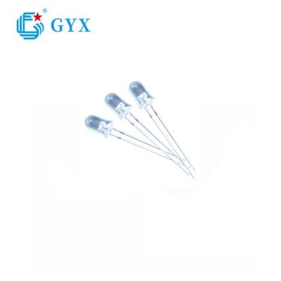 Φ 3/4/5 mm led diode-Round head white light