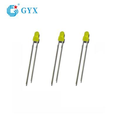 Φ 3/4/5 F3 round yellow led diode