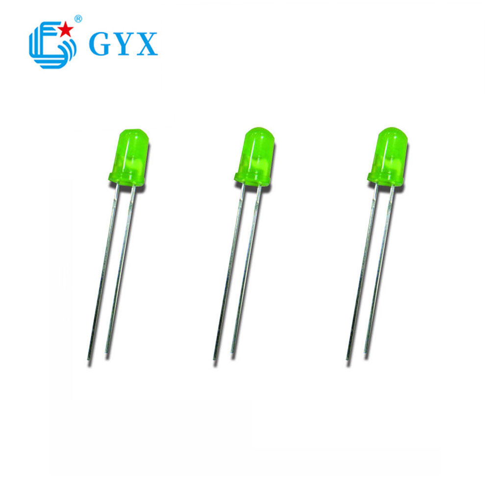 Φ 3/4/5 F4 round green led diode