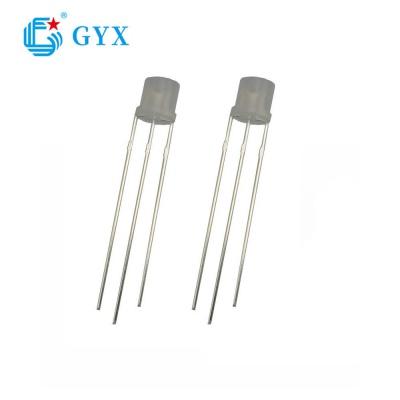 Φ-5mm Flat head two color led diode