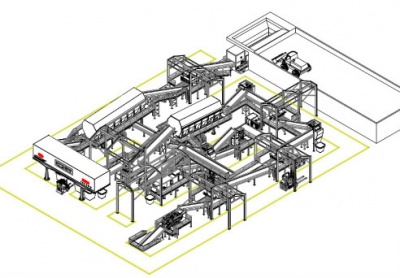 Production Line of Domestic Waste Derivative Fuel (RDF) Project