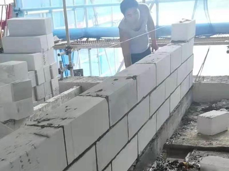 融侨翰林郡轻质抹灰砌筑砂浆施工