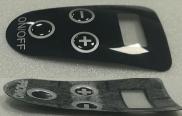 Pressure arc button