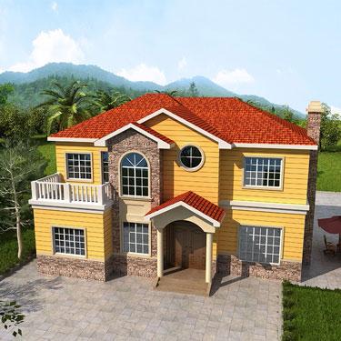 钢结构别墅房屋工程案例