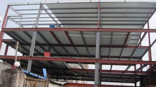 多层钢结构车间工程案例