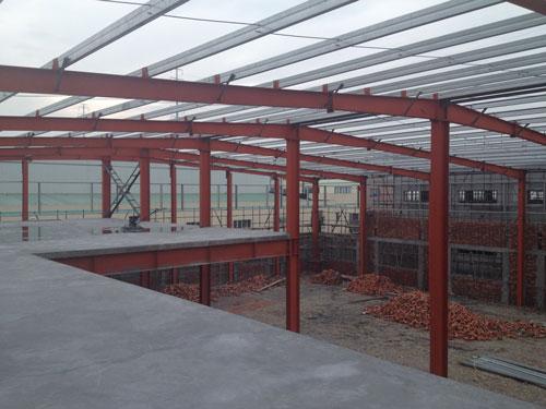 钢结构多层厂房工程案例