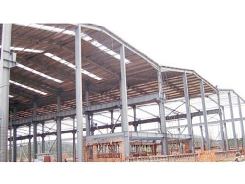 钢结构连跨厂房工程案例