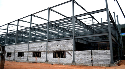 钢结构车间厂房工程案例