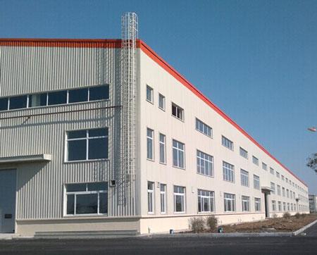 现代钢结构厂房车间工程案例