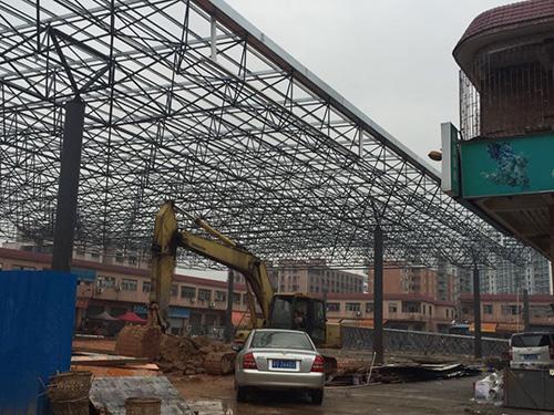 钢结构网架屋顶工程案例