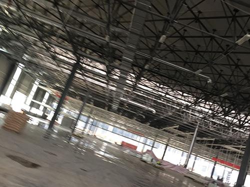 钢结构网架厂房车间工程案例