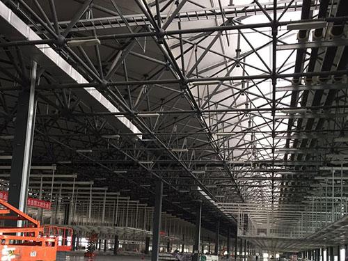 钢结构网架车间工程案例