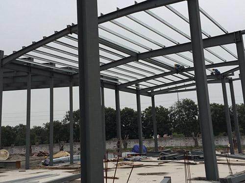 钢结构主体售楼部工程案例
