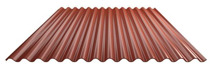 C型红色彩钢板
