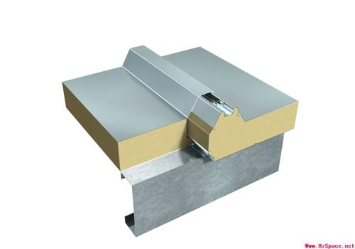 搭接式连接夹芯板屋面系统