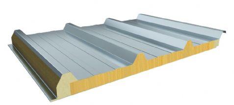 防火玻璃丝棉夹芯板屋面系统