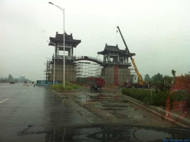 河南省开封市西大门双阙栈桥工程