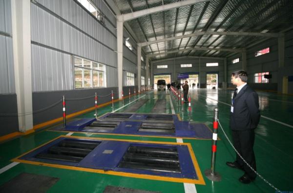 开封市交警队机动车检测线钢结构工程