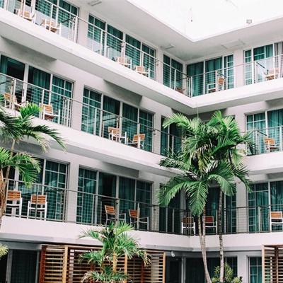 长沙60平米现代风格小户型公寓,灰蓝搭配的时尚空间