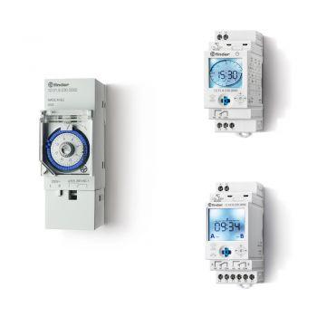 12系列-机械或电子数字时间开关16A。