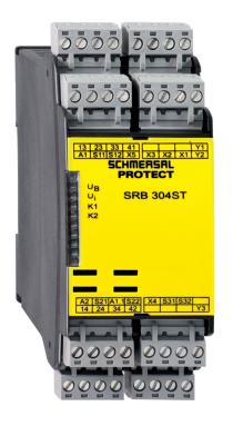 安全继电器SRB304ST