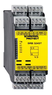 安全继电器SRB324ST