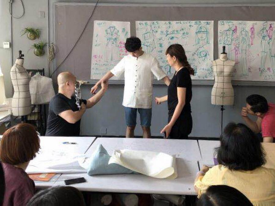 中式服裝設計培訓中式男裝訓練