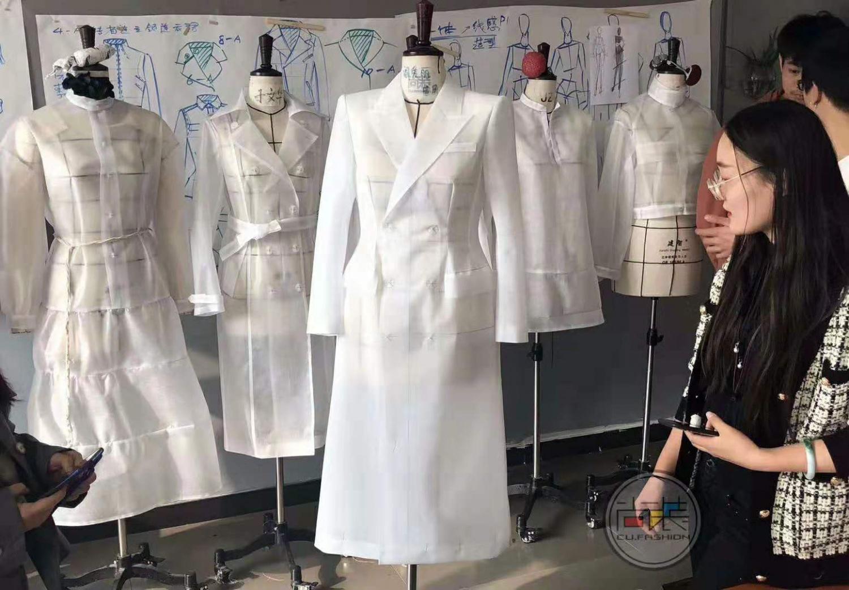 服裝制版培訓女裝男性化風衣點評