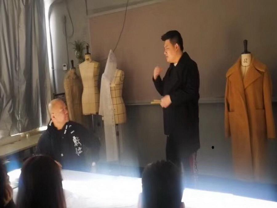服裝設計培訓男裝大衣訓練