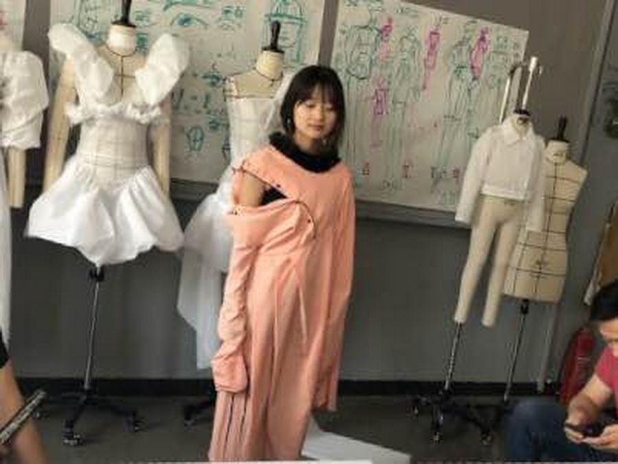 服裝設計培訓解構類女裝訓練