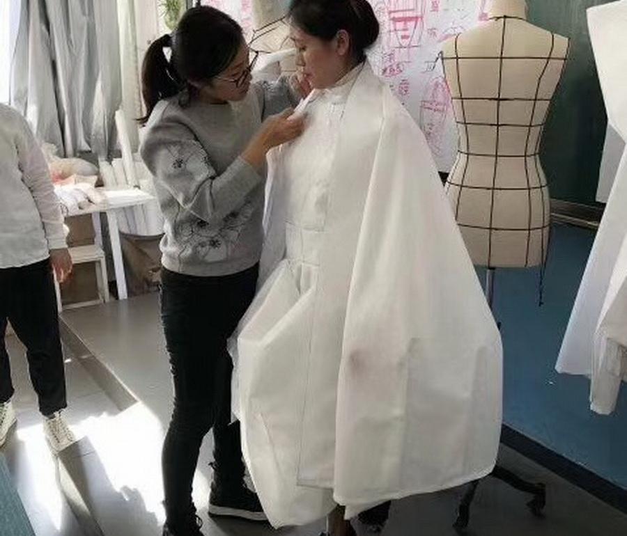 服裝立體裁剪培訓特殊造型廓形訓練