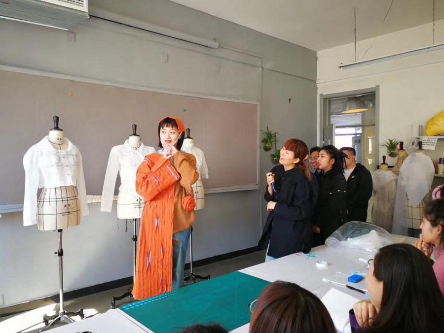 服裝設計班原創風格化訓練作品點