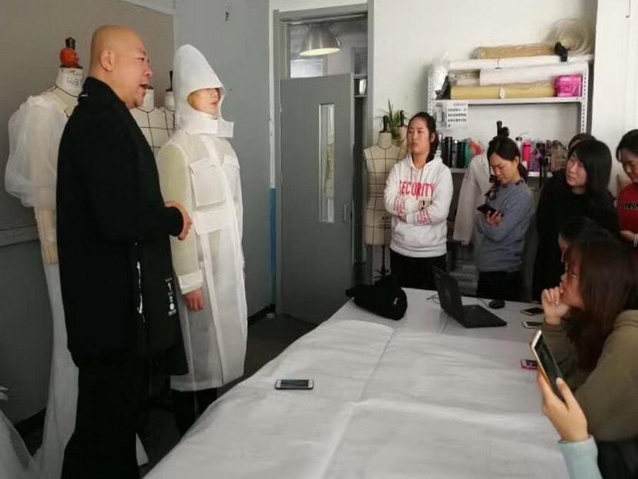 服裝制版制作培訓大衣風衣類訓練