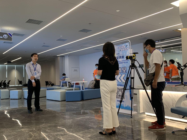 陈博士在第七届深圳宝安创新创业大赛现场