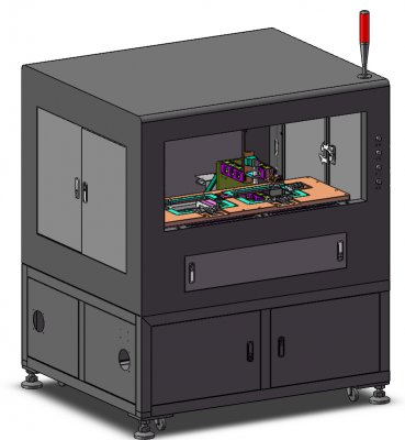 视觉检测设备-点激光