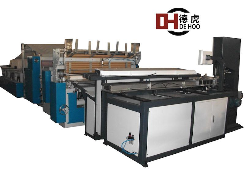 HEQ-II type full automatic embossing toilet paper rewinder