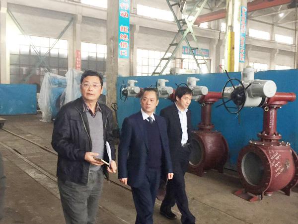 湖南省机床工具工业协会助推株洲南方阀门智能制造项目