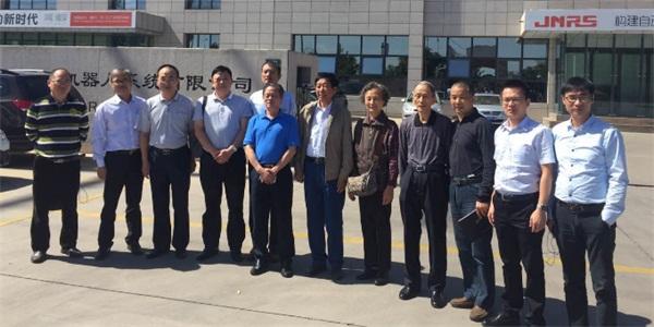 长沙市数控装备产业联盟企业赴银川小巨人公司考察学习