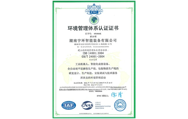 环境体系(中文)