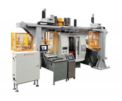 凸轮类零件拉销加工自动化生产线(齿形检测)