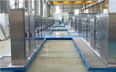 控制柜输送生产线