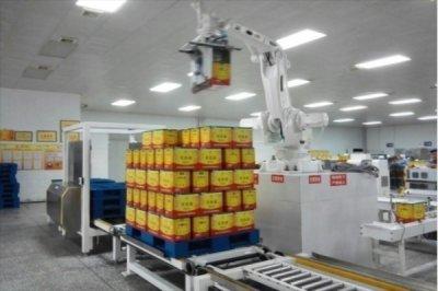 全自动玻璃瓶后包装联动生产线