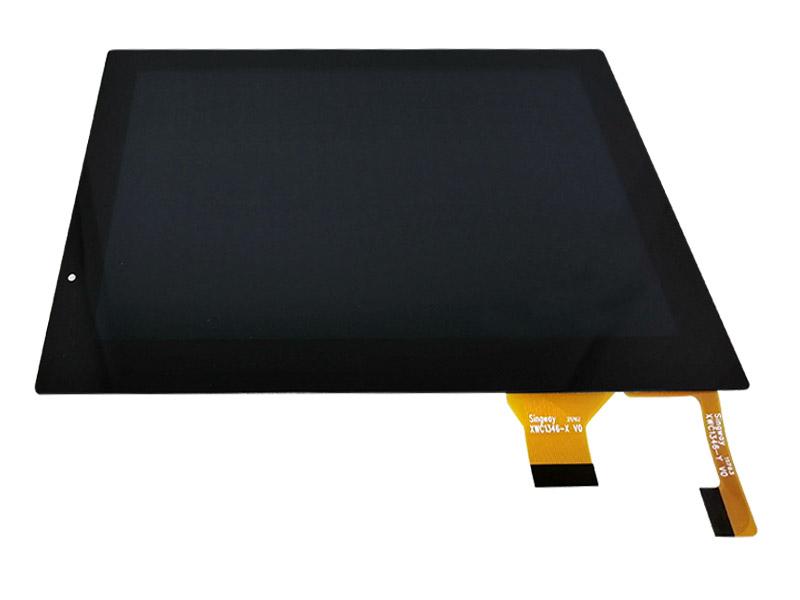 电容屏+无铁框液晶屏(全贴合)