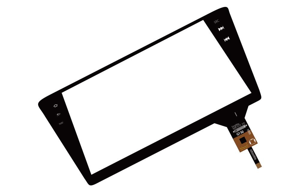 G+G电容屏(IIC接口)