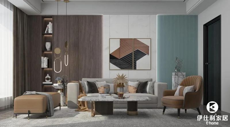高级材质+美学配色的护墙板,好看又实用!
