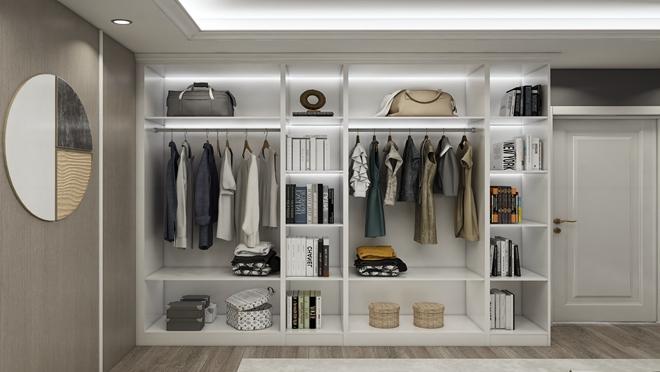 欧式风格衣柜