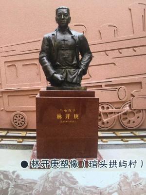 福州铸铜雕塑制作工艺及介绍