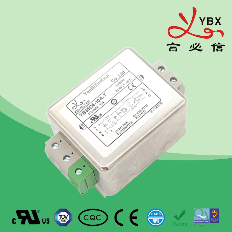 Guide power filter 24-27-28 line