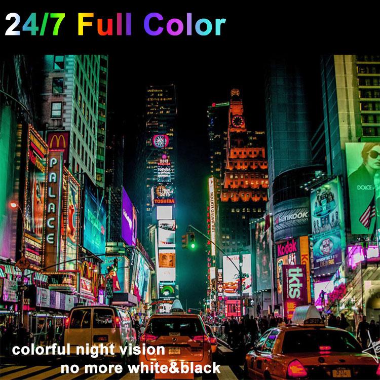 New Revolution for CCTV Surveillance 24/7 Full-Time Color PoE IP Camera
