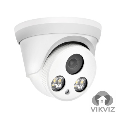 8MP ColorVu IP Camera, 24/7 Full Time Color Night Vision, Hikvision Compatible (IPC2357C-28)